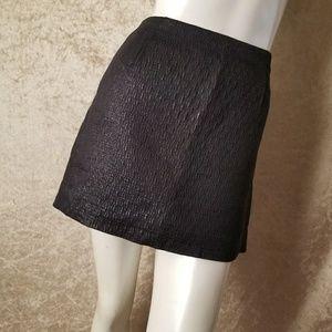 J.Crew Cotton Silk Metallic Skirt Size 4